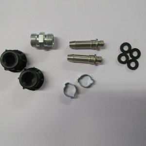 Intake - return hose assembly