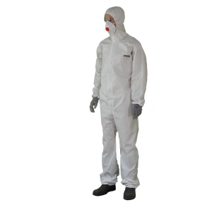 Disposable coverall type...