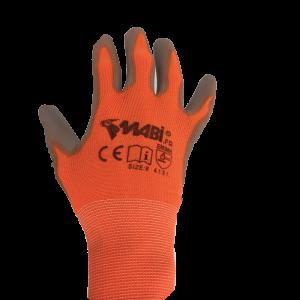Gants manutention orange T10