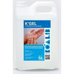 Gel hydro alcoolique bidon  5L